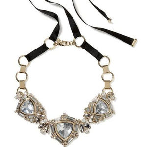 Banana Republic Regalia Crystal Statement Necklace
